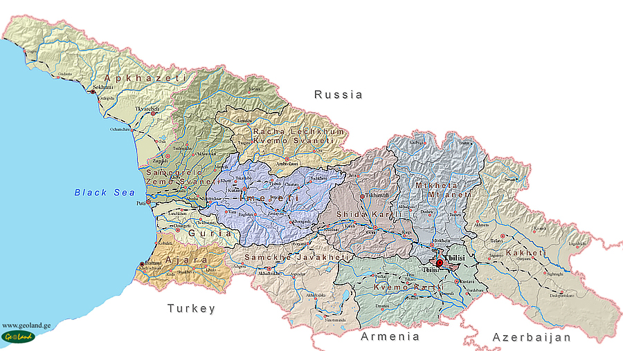 Map Republic Of Georgia.About Georgia Geo Film Production Is A Georgia Based Documentary